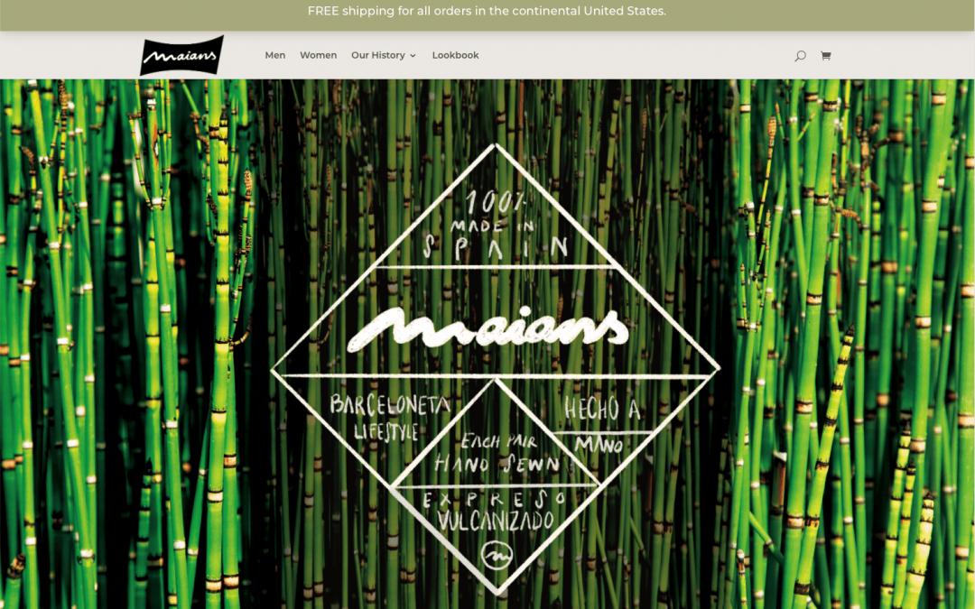 Nueva tienda online Maians Footwear USA