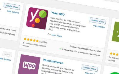 7 plugins esenciales wordpress 2020