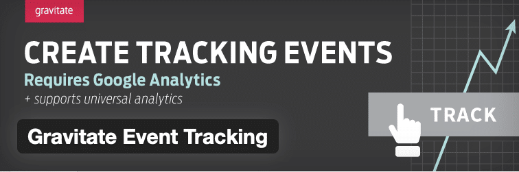 Gravitate Event Tracking